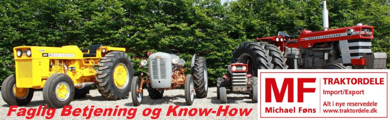 MF-traktordele, Import/Export