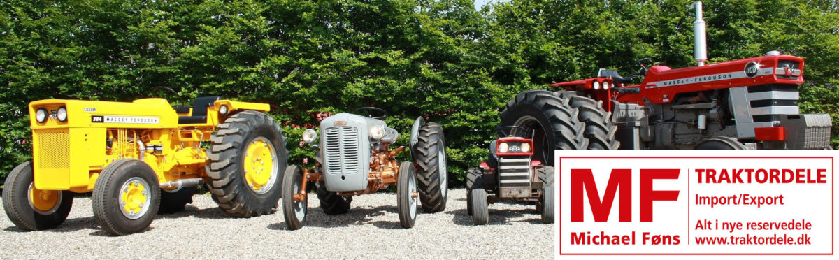 MF-traktordele